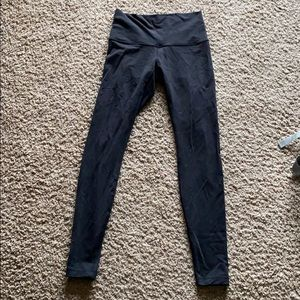 "Wonder Under 28"" High Rose Pants"